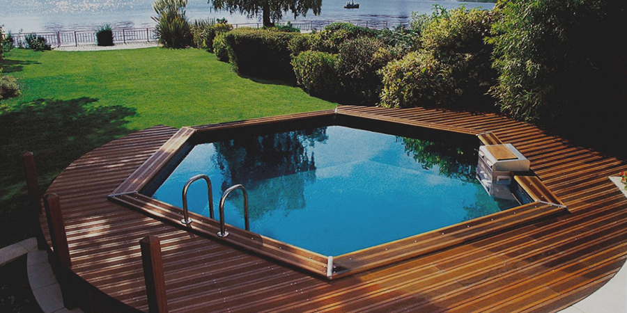 piscine hors sol ronde Eth (Nord)
