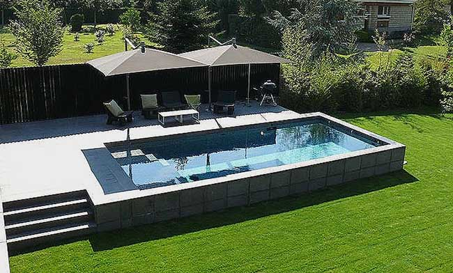 installation de piscine hors sol autour de poitiers. Black Bedroom Furniture Sets. Home Design Ideas